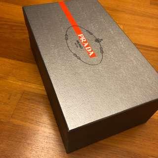 Prada Sports Shoe Box - Size 9UK (Silver)