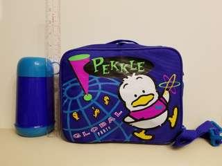 1996年版 Pekkle 旅行袋連水壺套裝