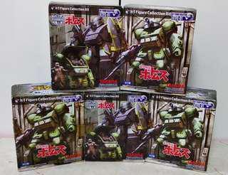 裝甲騎兵可動景品盒旦(共全5盒)