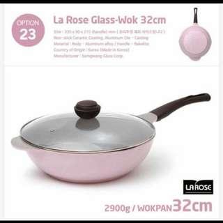 韓國玫瑰鍋  玻璃蓋