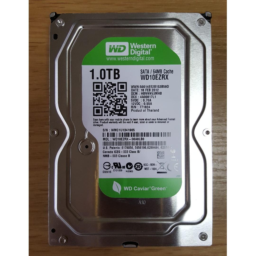 35 Hard Disk 1tb Western Digital Wd10 Ezrx 00a8lb0 Hdd Hardisk Pc Internal 1000gb Photo