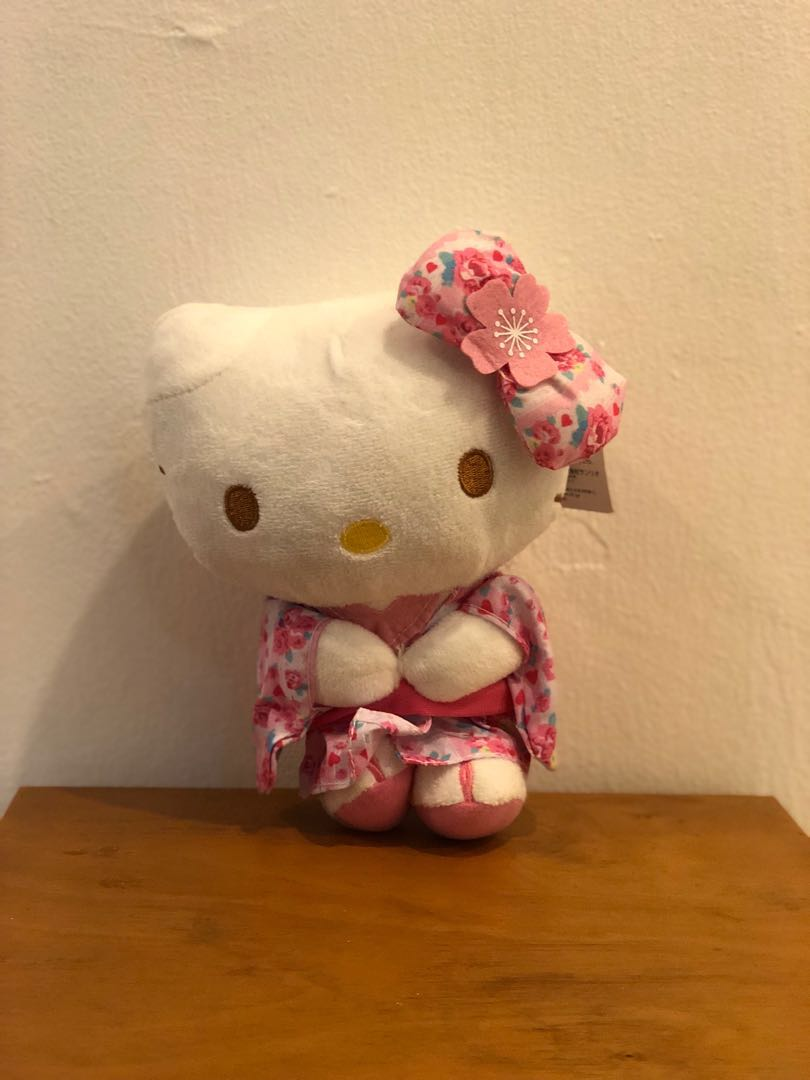 3ef7f0c5b 781 BN Sanrio Hello kitty Kimono Plush Toy, Toys & Games, Stuffed ...