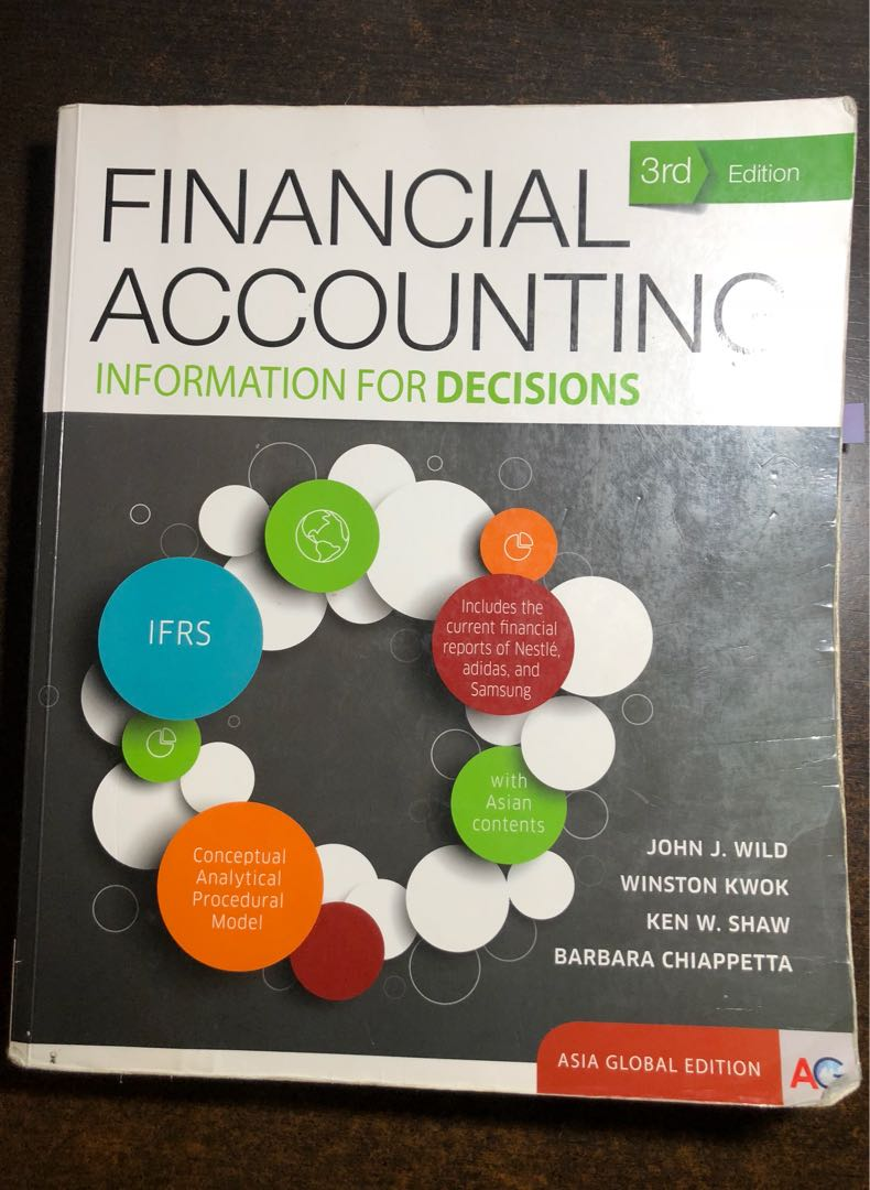 ACC1701/ACC1701X Financial Accounting Textbook 3rd Edition