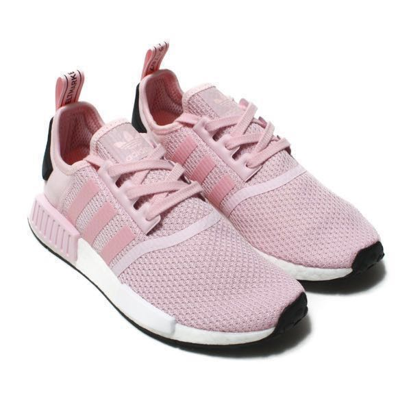 951110d24 ... coupon for adidas nmd r1 clear pink womens fashion shoes sneakers on  carousell bdcce c413c