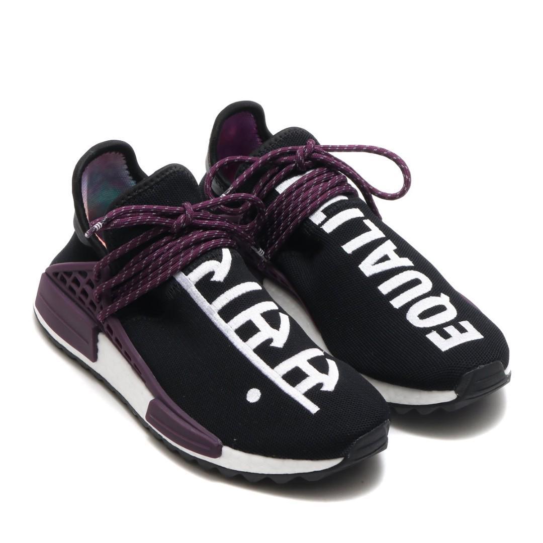 buy popular ebb73 d22ff Adidas x Pharell Human Race Holi Pack - Core Black/Purple ...