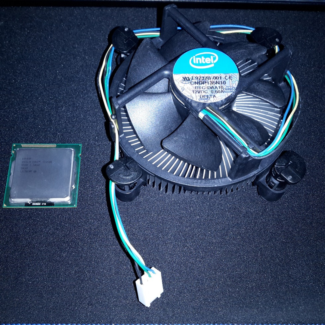 Sold Almost New Intel Core I5 2500 Processor 6m Cache Socket Fan Lga 1155 Original Up To 370 Ghz With Hsf 55 Electronics Computer Parts Accessories
