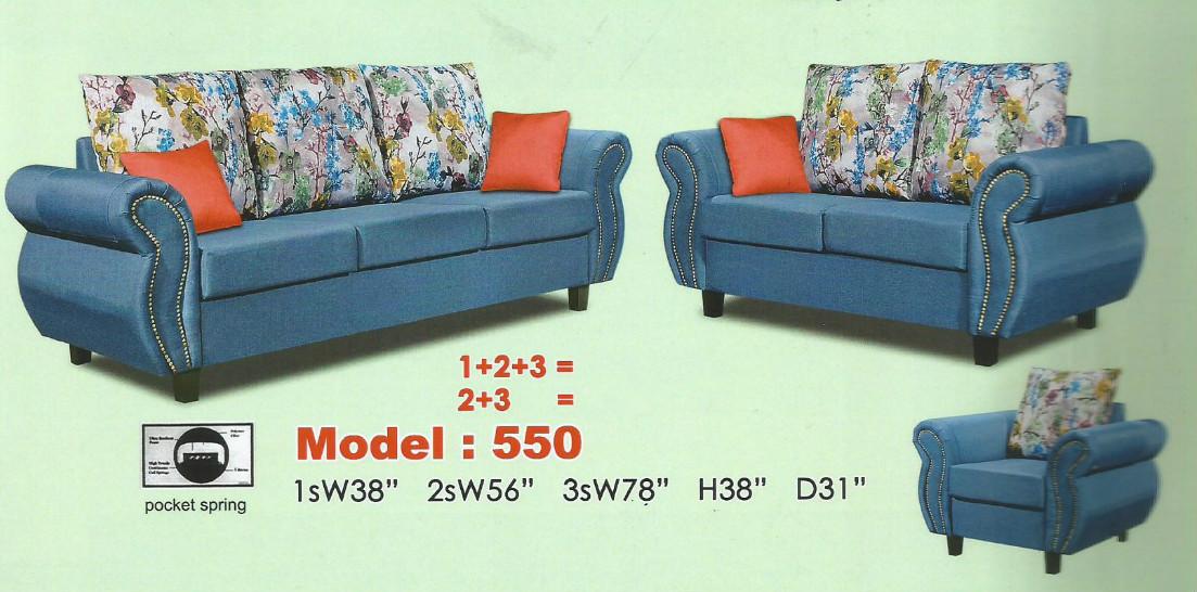 Ansuran Murah Sofa L Shape Model 2405 Home Furniture Furniture