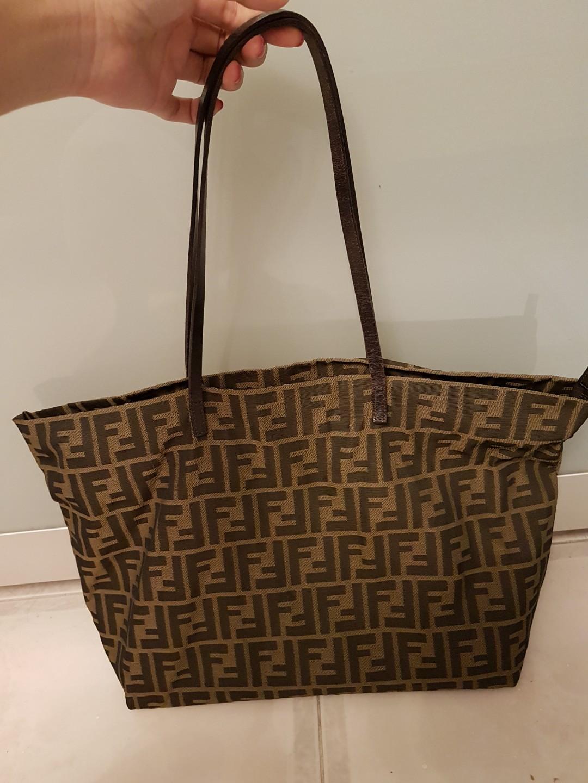 4ba17b2be80 Authentic fendi tote bag, Luxury, Bags & Wallets, Handbags on Carousell