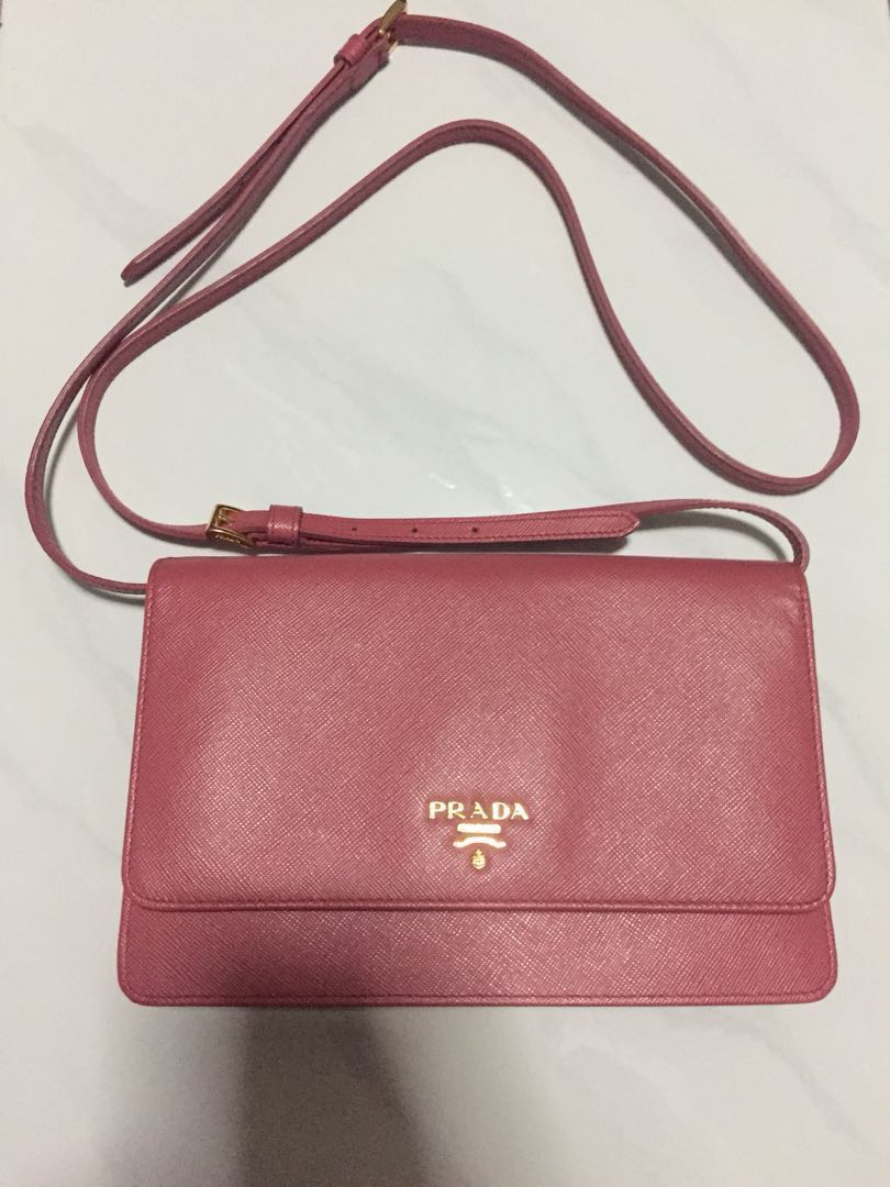 8ebefad1a0cf ... hot authentic prada sling clutch bag luxury bags wallets sling bags on  carousell c1aba 961bd