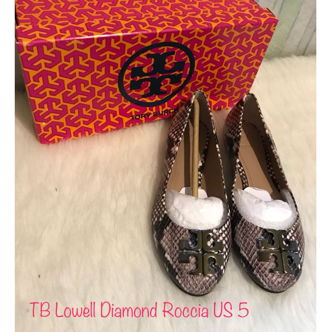 ee5c00a387c Authentic Tory Burch Lowell diamond roccia shoes