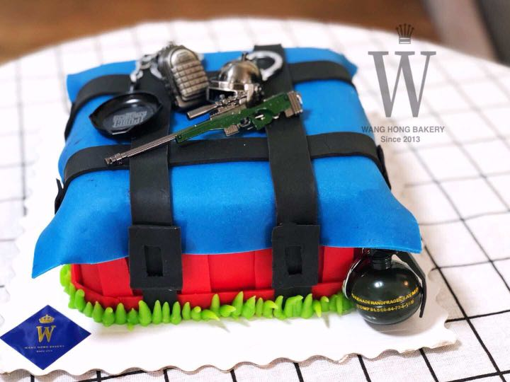 Birthday Cake Pubg Theme Food Drinks Baked Goods On Carousell