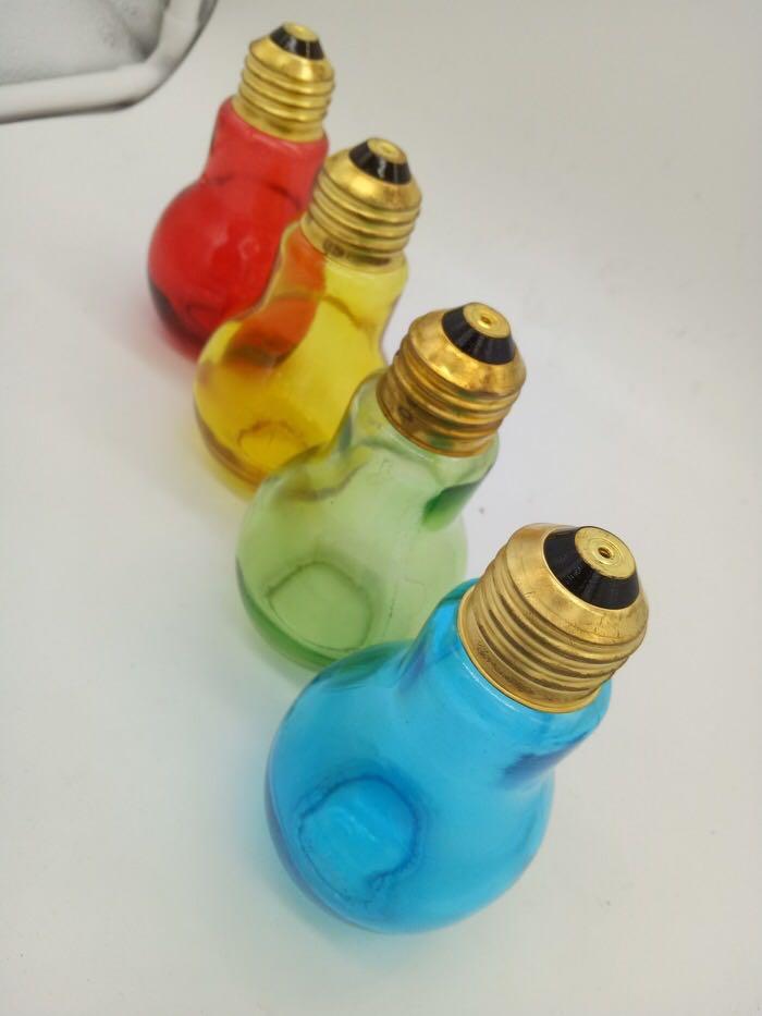 Botol Kaca Bentuk Bohlam