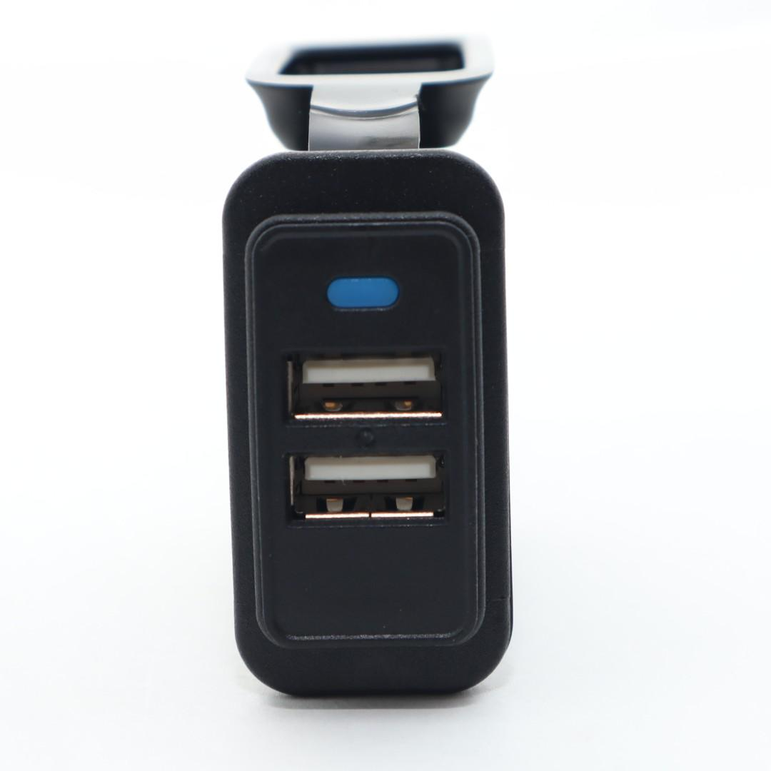 CAR DUAL USB CHARGER ADAPTER 5V 2.4A