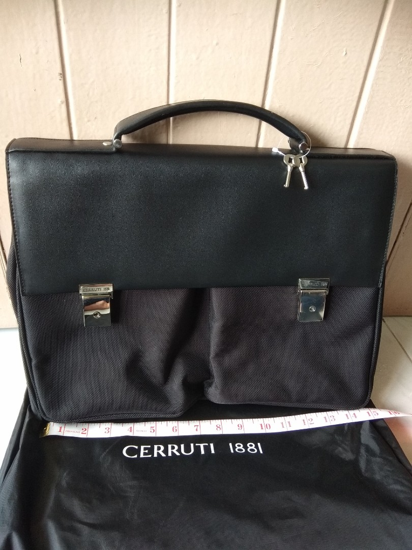 2e86cd94f63 Cerruti 1881, Men's Fashion, Bags & Wallets, Briefcases on Carousell