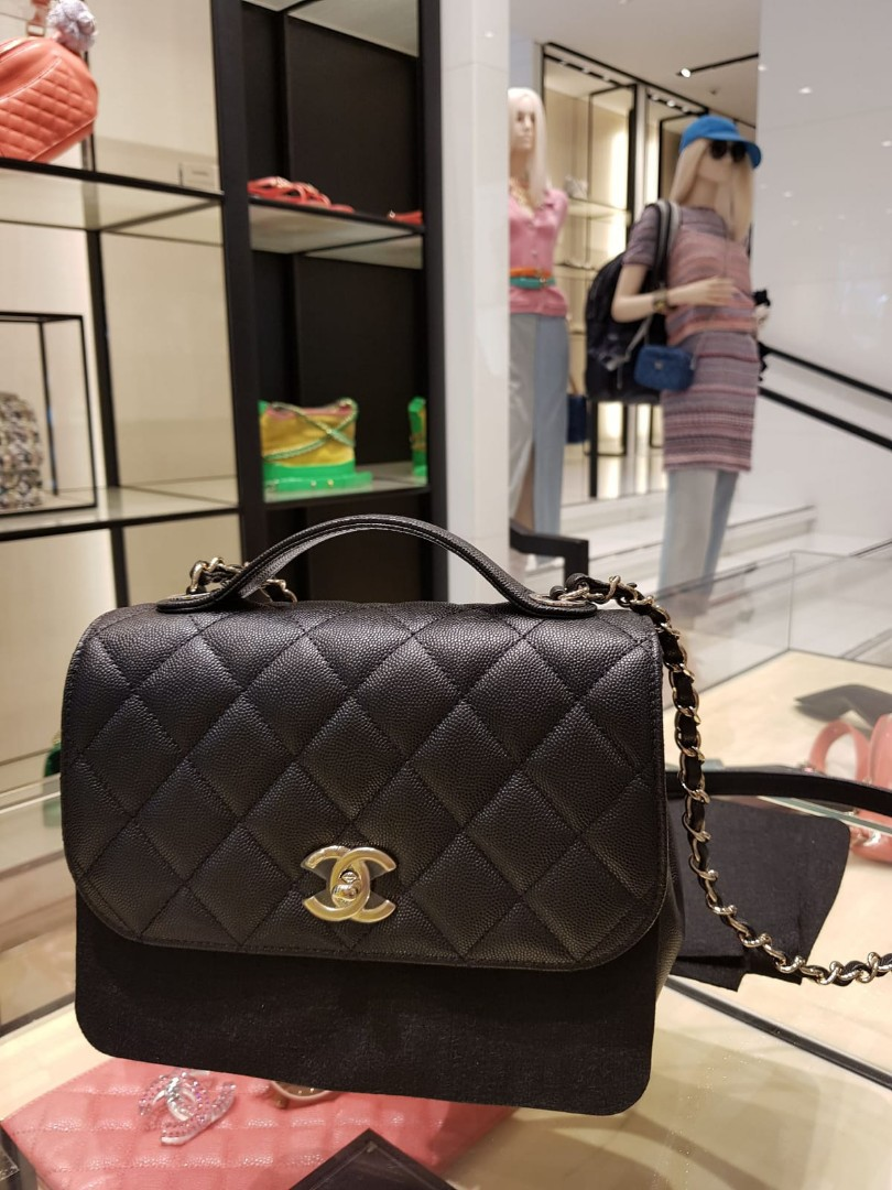 cbefe9fcb3e3 Chanel Business Affinity Flap (medium), Luxury, Bags & Wallets, Handbags on  Carousell
