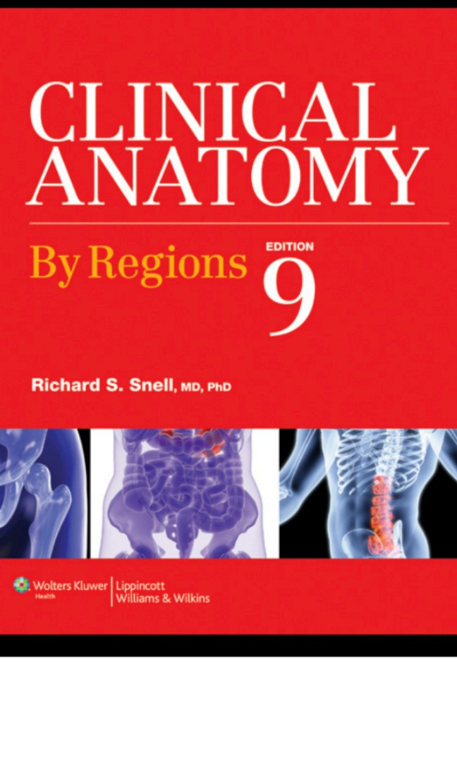 Clinical Anatomy by Regions 9th ed PDF, Books, Books on Carousell