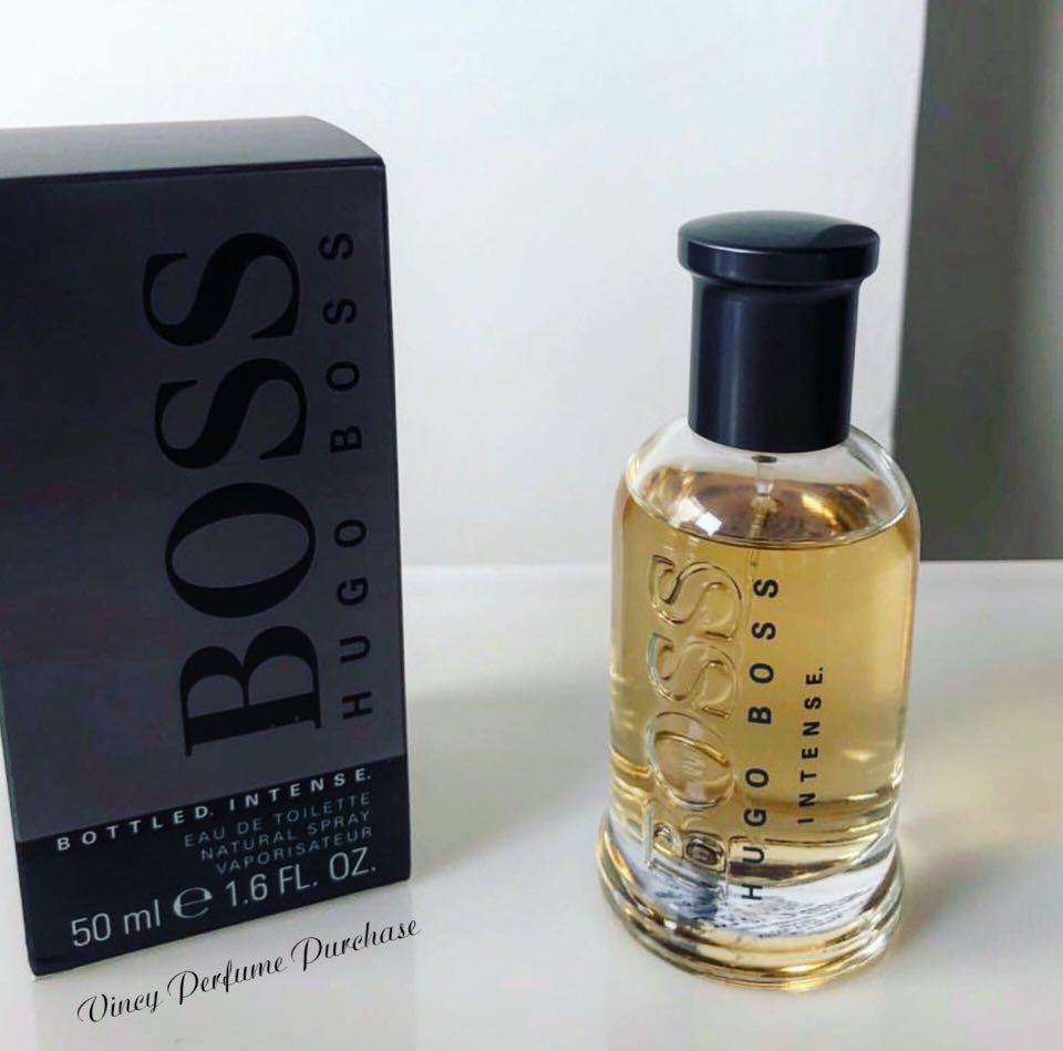 052a994eb2d Hugo Boss Bottled Intense Eau De Toilette 100ml