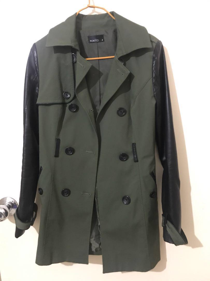 Khaki Piped trench
