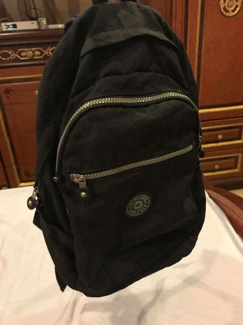 3531715fb15 Kipling Black Backpack, Luxury, Bags & Wallets on Carousell
