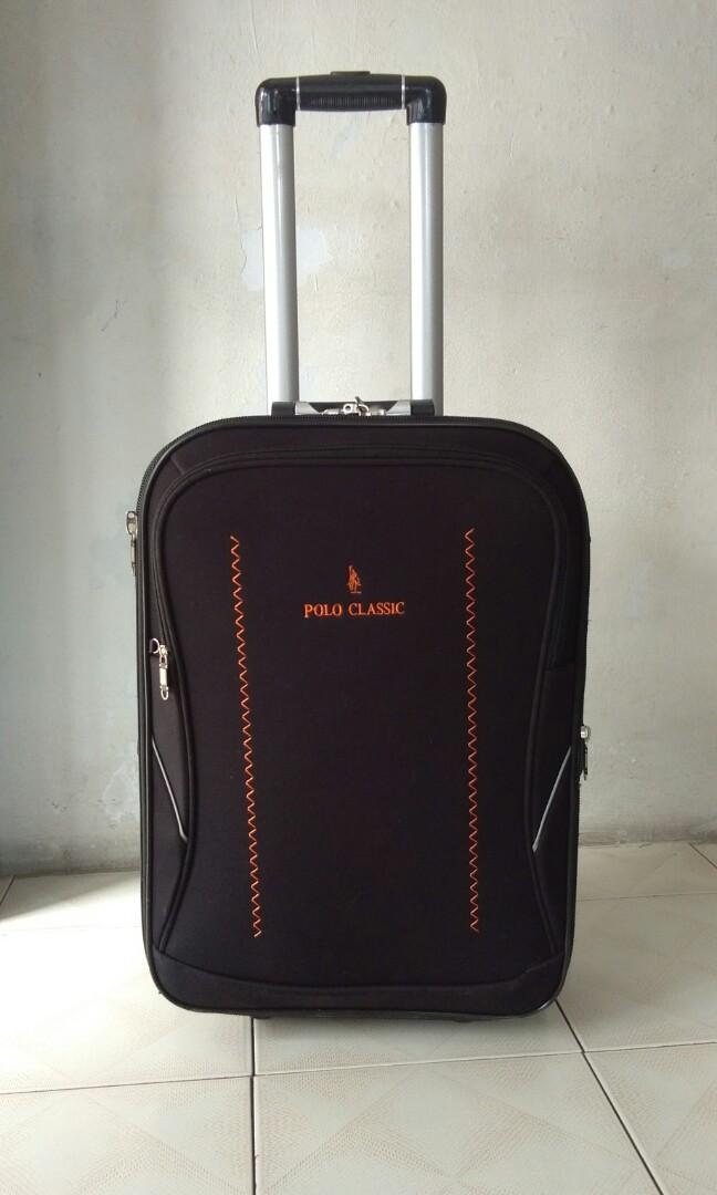 Koper Hitam Cewe Cowo Polo Classic Tas Travelling JUAL MURAH KOPER Mens Fashion Bags Wallets On