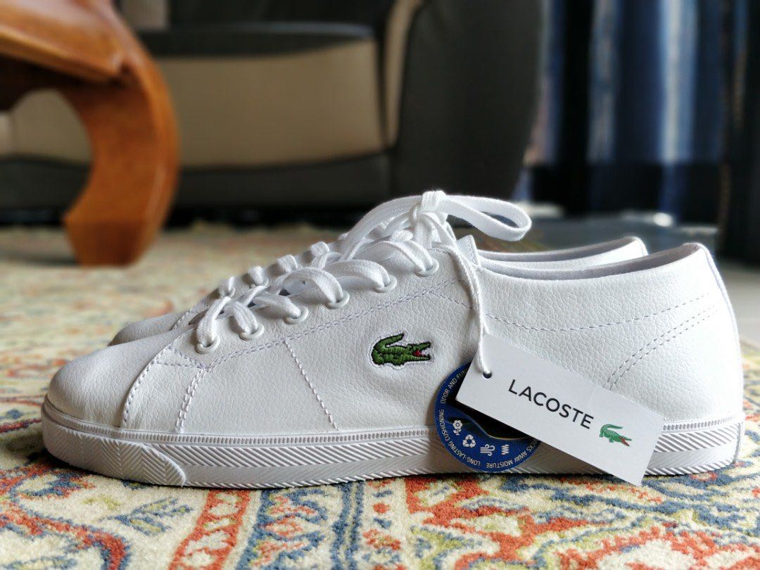 lacoste womens leather trainers - 56