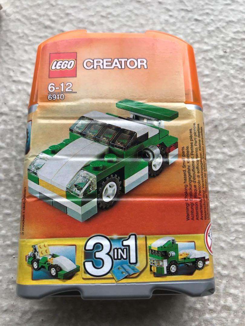 Lego Bnib Car 3 In 1 Creator 6910 Toys Games Bricks Figurines
