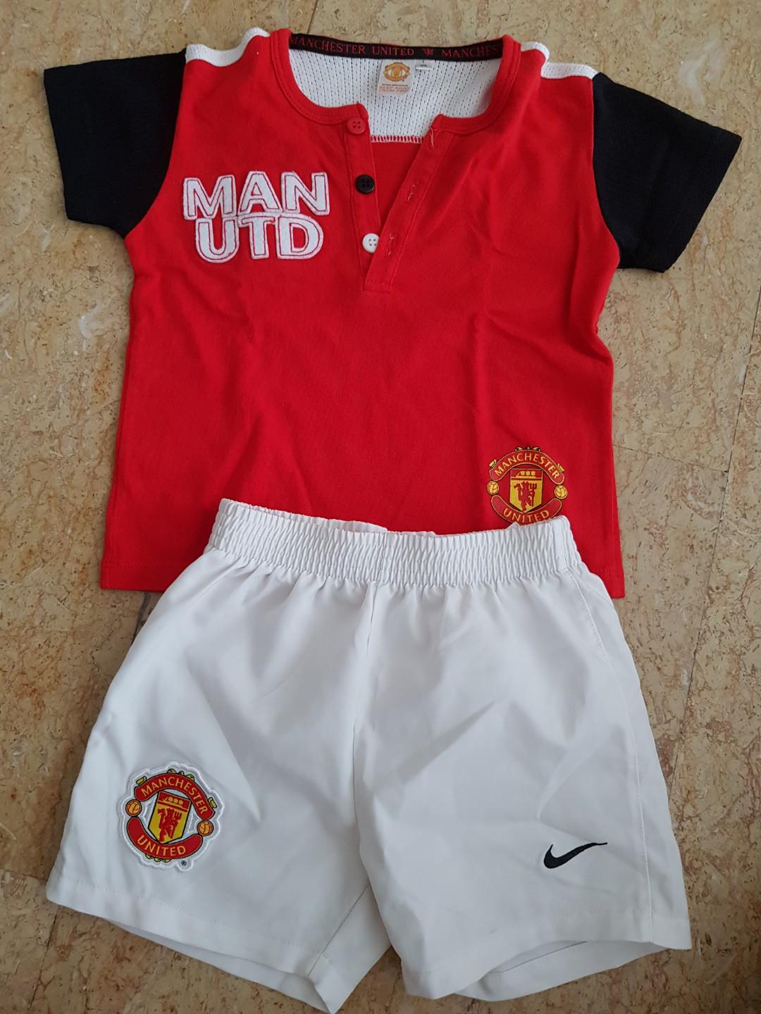 best sneakers f4de8 b9e13 Manchester United Shirt and Nike Pants 9-12 months, Babies ...