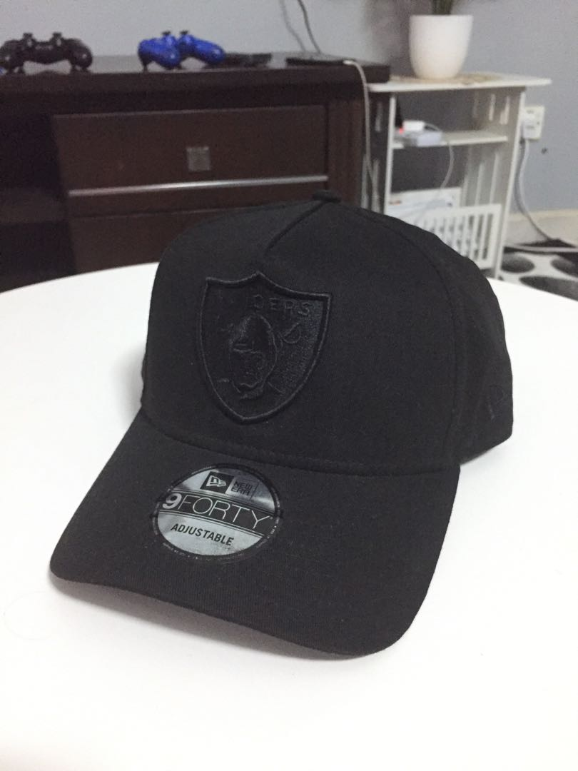 afe60ac80ae8cc Original New Era 9forty Oakland Raiders A Frame Snapback Cap, Men's  Fashion, Accessories, Caps & Hats on Carousell