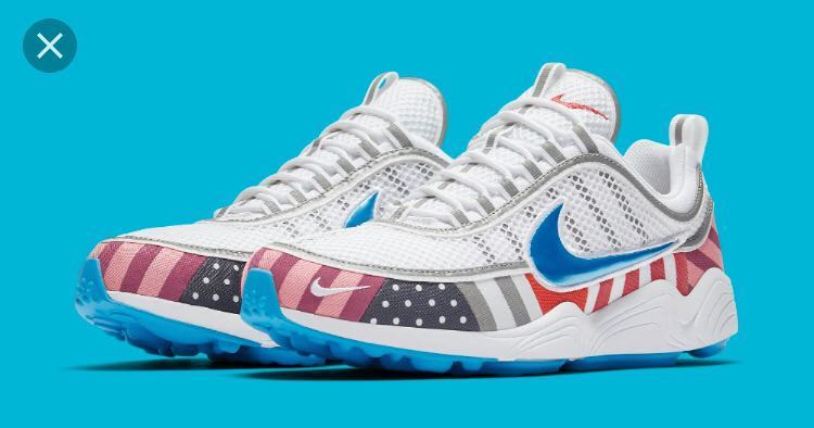 meet 96908 3a8fc Parra x Nike Air Zoom Spiridon, Men's Fashion, Footwear, Sneakers on ...