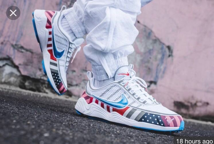 caf7c590d9 Parra x Nike Air Zoom Spiridon, Men's Fashion, Footwear, Sneakers on  Carousell