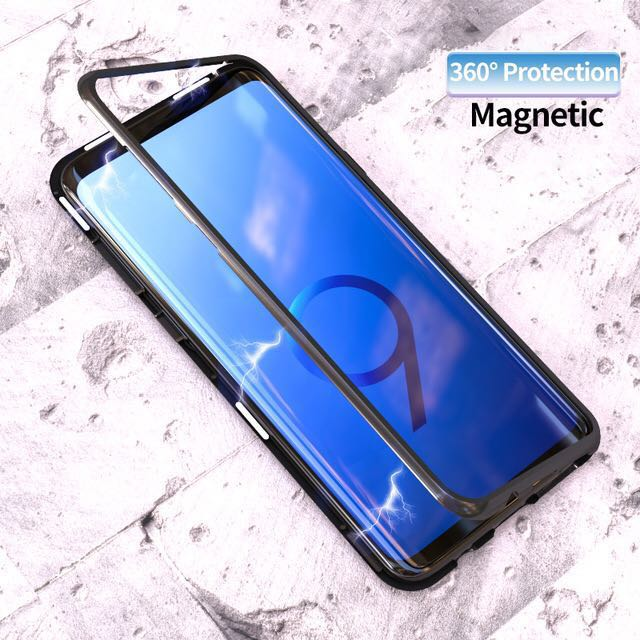 buy online 484b0 a32a8 Premium Magnetic Case Huawei Honor 10, Mate 10 (Pro)