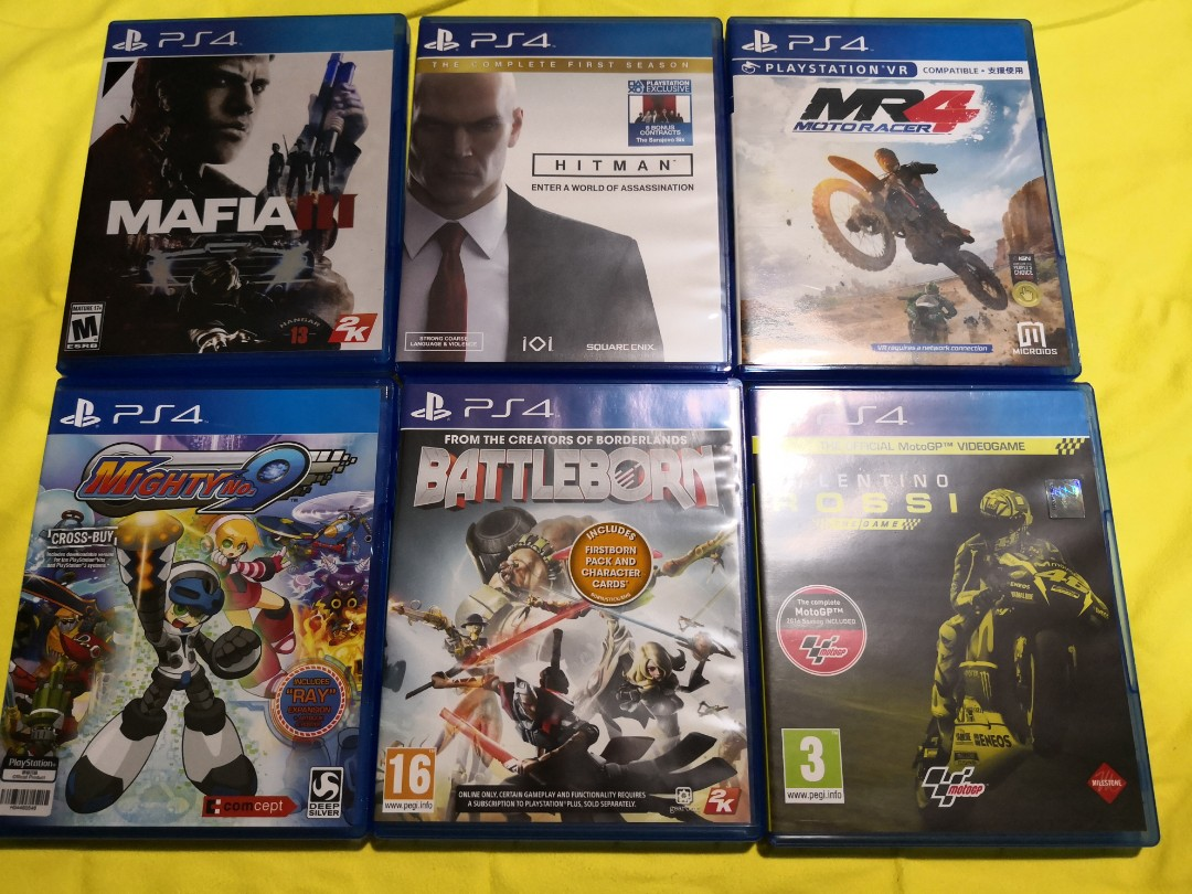 PS4 Games, Toys & Games, Video Gaming, Video Games on Carousell
