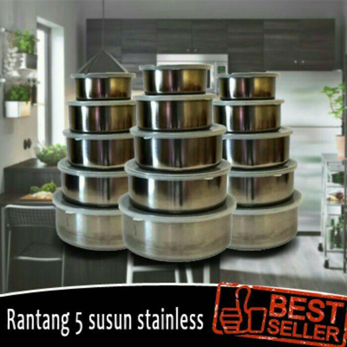 RANTANG STAINLESS 5Set