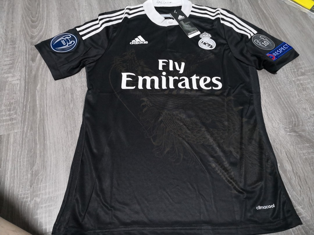 Real Madrid Black dragon 14 15 away third kit 310d66910