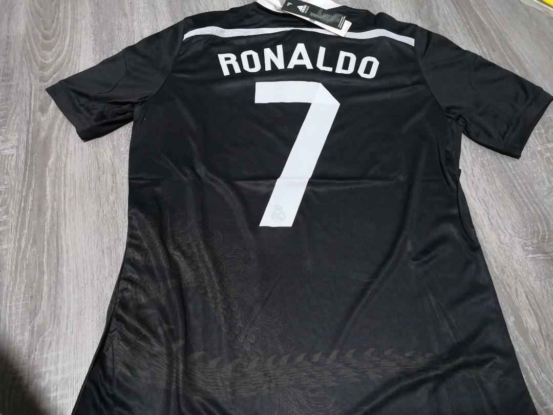 best service c31e1 08d2c Real Madrid Black dragon 14/15 away third kit, Sports ...