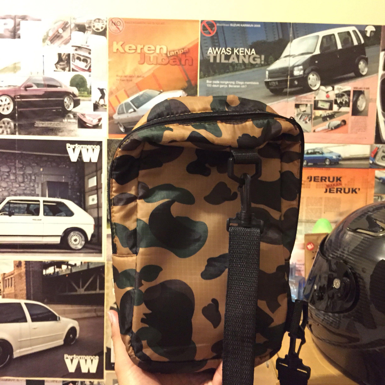 Sling Bag BAPE APPENDIX Japan Magzine