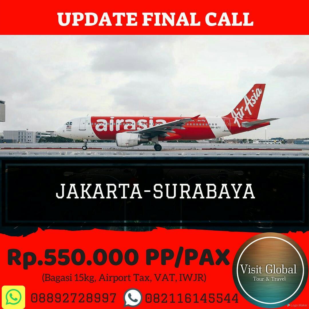 Tiket Pesawat Promo Jakarta Surabaya Tickets Vouchers