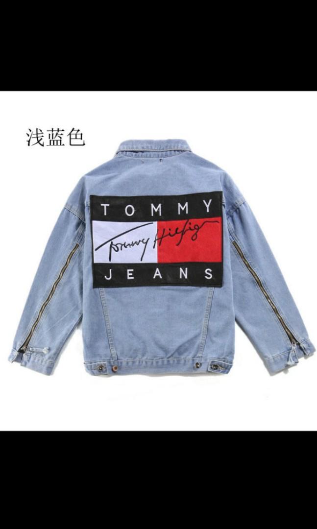 Tommy 外套 牛仔外套 長袖