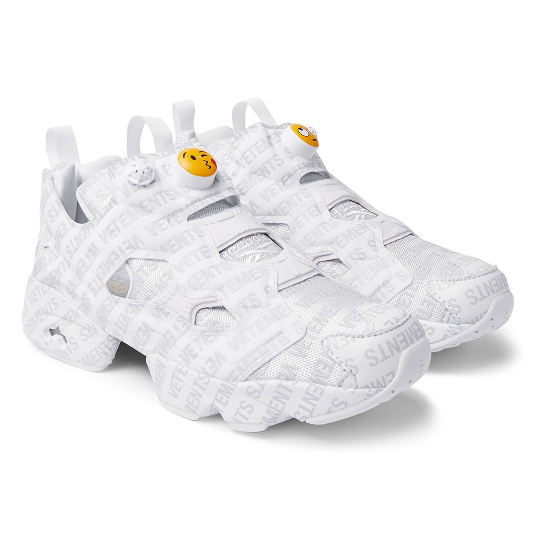 11d59bd3 Vetements x Reebok InstaPump Fury Emoji Sneakers (Mr.Porter ...