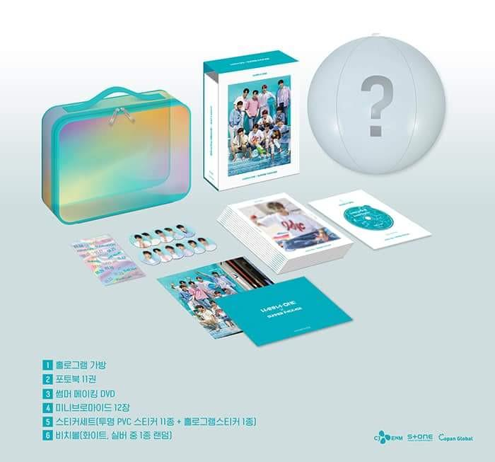 WTB Wanna One Summer Package