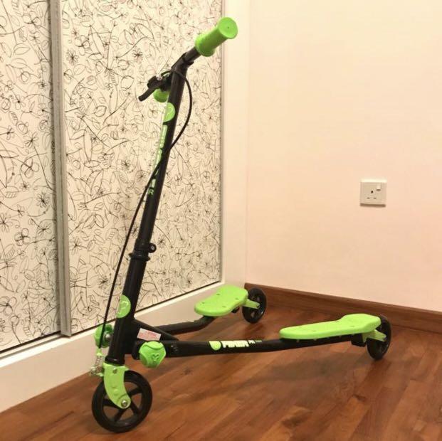 Y Fliker Scooter >> Y Fliker A1 Green Scooter Brand New