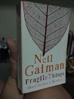 Neil Gaiman's Fragile Things (paperback)