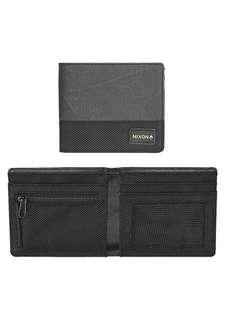 Nixon Origami Bi-Fold Zip Wallet Black