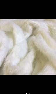 Faux Fur White 1yrd