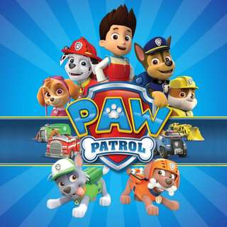 Paw petrol party banner