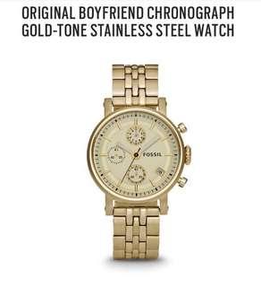 Fossil watch boyfriend