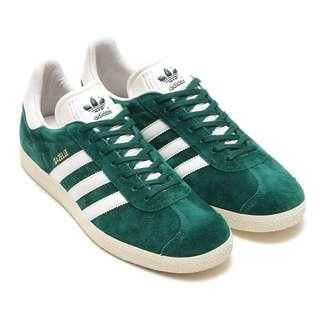 Adidas 愛迪達 Gazelle 深綠 green