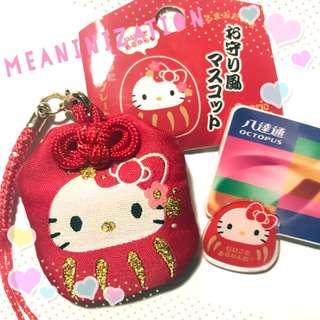 // 手作八達通💫 // Sanrio Hello Kitty 吉蒂貓御守限定日版八達通