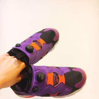 Reebok 充氣鞋 紫色