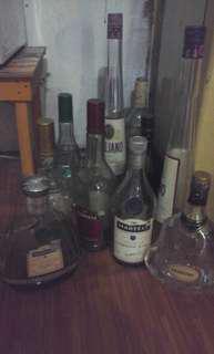 Botol kosong koleksi